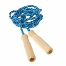 Wood Handle Jump Rope (Colors May Vary) by Constructive (Cheap Jump Ropes)