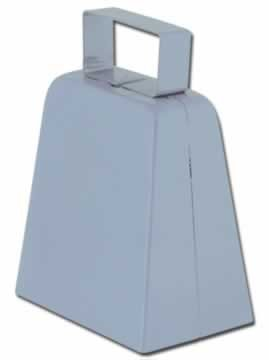 Silver Cowbell Noisemaker (Silver Cowbell)