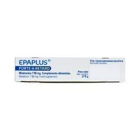 Amazon.com: Epaplus Melatonina Forte+ Retard and Tryptophan 1.98Mg 60 Tabs. - Helps You Sleep More Pleasantly All Night Long - Agains Jetlag Or Stress ...