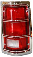 TYC 11-5059-21 Dodge/Plymouth Passenger Side Replacement Tail Light Assembly