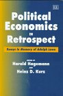 Political Economics in Retrospect : Essays in Memory of Adolph Lowe, , 1858980577