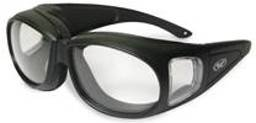 Motorcycle Goggles Over Glasses - 9