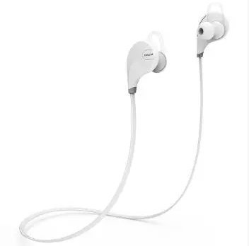 Amazon In Buy Bluetooth Headset Jogger Rare White Color Wireless Sports Headphones With Mic Noise Cancellation Sweatproof Earbuds Best For Running Gym Stereo Sound Quality Compatible With Iphones Ipads