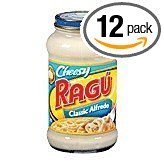 Ragu Cheese Creations Classic Alfredo Pasta Sauce 16 oz (Pack of 12) (Alfredo Sauce With Milk And Parmesan Cheese)