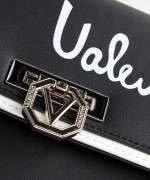Valentino by Mario Valentino Stewie Sac port/é /épaule Noir//Blanc