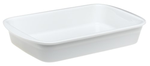 Pillivuyt Porcelain Heavy-Duty Large 14-by-9-1/2-Inch Lasagne Baker