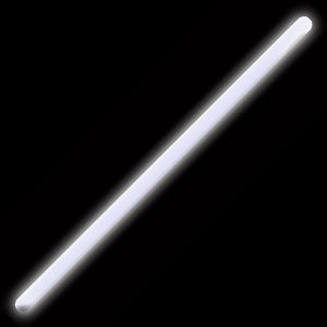 "Glow Sticks Bulk Wholesale, 10 12"" 15mm Dia. White Industrial Grade Jumbo Light Sticks, Bright Color, Glow 14 Hrs, Safety Glow Stick 3yrs Shelf Life, Ideal for Camping & Emergency, Glow With Us Brand"
