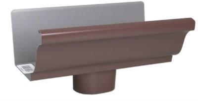 AMERIMAX HOME PRODUCTS 2501019 Gutter End with Drop