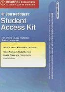 CourseCompass Student Access Code Card for World Regions in Global Context: People, Places, and Environments (4th Editio
