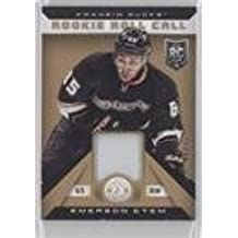 Emerson Etem #6/25 (Hockey Card) 2013-14 Totally Certified - Rookie Roll Call - Gold Patch #RR-EE