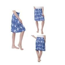 Colorado clothing Tranquility By Ladies' Pull-On Skirt - Blue, Medium