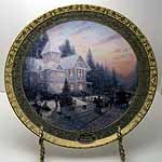 Thomas Kinkade Collector Plate - 7