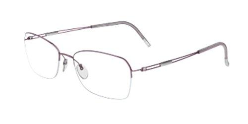 - Silhouette Women's Eyeglasses TNG Nylor 4337 6053 Half Rim Optical Frame 52mm