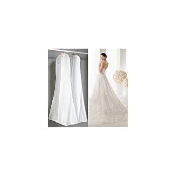"Amazon.com: ElegantPark White 70"" Long Garment Bag Dress"