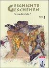 Geschichte und Geschehen - aktuelle Ausgabe / Ausgabe für Nordrhein-Westfalen und Mecklenburg-Vorpommern: Schülerbuch 6. Schuljahr
