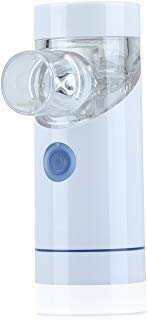 Aerosoon NebSmart Handheld Portable Inhaler Household Humidifier with Build-in Rechargeable Li-polymer Battery (White)