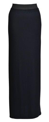 Outofgas 36 Femme Bohémienne Jupe m longue 38 Maxi Fr Noir Jersey Clothing Gitane S E7wq4rY7x