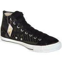 Converse All Star Daim Chucks CT 100243Skull Graffiti Hi Noir Sneakers Taille 42(UK 8,5)