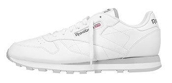 Reebok - Zapatillas de Piel para hombre Blanco blanco 42.5