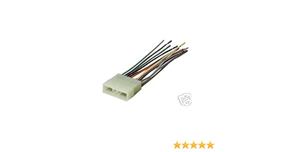 Amazon Com Stereo Wire Harness Geo Metro 95 96 97 1997 Car Radio