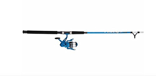 Shakespeare Tiger 7' 2 Piece Spinning Rod & Reel Combo Blue