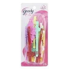 Goody Girls Sassy Self Hinge Hair Barrettes - 26 pk. (Goody Girls Hair Clips)