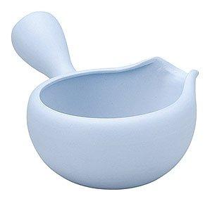 Japanese ceramic Tokoname ware. Yusamashi small lipped bowl. 180cc