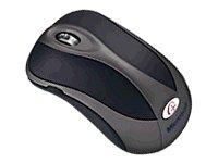 Microsoft Wireless Notebook Optical Mouse 4000 - Dark Grey - Microsoft 4000 Wireless Keyboard