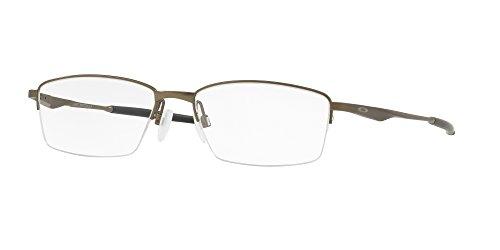 ff9da9acdd64b Oakley OX 5119 02 Limit Switch 0.5 Satin Pewter Metal Rectangle Eyeglasses  54mm