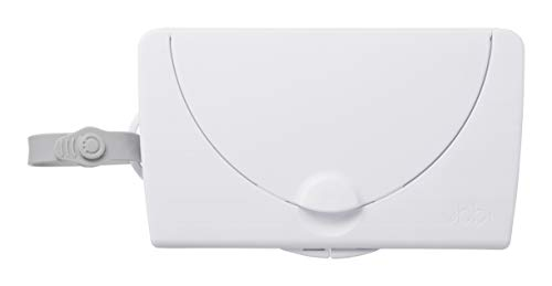 Ubbi On The Go Wipe Holder Baby Gift, White