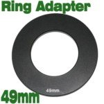 49mm Lens Filter Adapter Ring for Cokin P Series - Ring Adaptor Series