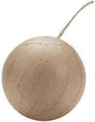 - Bulk Buy: Darice Paper Mache Ball Ornament 2 1/2