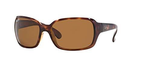 Ray-Ban RB4068 642/57 60M Havana/Brown Crystal Polarized Sunglasses For Women ()