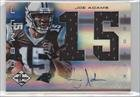 Joe Adams #48/49 (Football Card) 2012 Limited - Rookie Jumbo Materials - Jersey Numbers Signatures [Autographed] #28