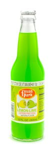 Foxon Park, Lemon Lime Soda, 12 oz. Bottle (Case of 12) made in Connecticut