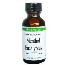 [Lorann Hard Candy Flavoring Oil Menthol Eucalyptus Flavor 1 Ounce] (Menthol Eucalyptus Flavor)