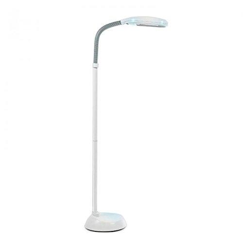 Floor Standing Daylight Energy Saving Reading Hobby Craft SAD Lamp Light Grey