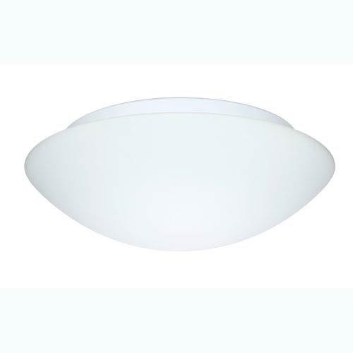 Nova Lighting Glass - Besa Lighting 977007C 3X60W A19 Nova 16 Ceiling Flush Mount with White Glass