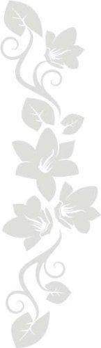 INDIGOS UG WANDTATTOO f269 wunderschöne Ranke mit hübschen Blaumen 160x46 160x46 160x46 cm - Flieder B0040HUUUY Wandtattoos & Wandbilder a9180b