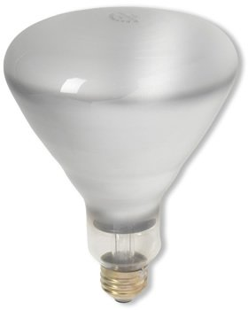 **24 PACK** Havells - 120BR40/FL/RS - 120 Watt BR40 Incandescent Flood Light Bulb, Long Life