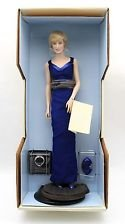 (Diana Princess of Wales Porcelain Portrait Doll By the Franklin Mint Princess Di)