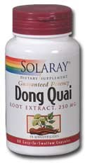 Solaray Dong Quai Root Extract -- 250 mg - 60 Capsules