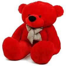 AARU Soft Lovable Teddy Bear ( 24 INCHE) RED