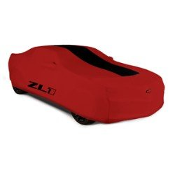 2013 Chevy Camaro Convertible Red Outdoor Car Cover with ZL1 logo by GM 22863454 by Chevrolet