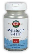 Kal 2.5 Mg Melatonin 5-htp Tablets, 60 Count