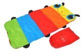 Colorful Caterpillar Nap time Sleeping Bag for Children w/ Personalized Name Card Holder