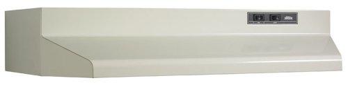 Broan 403002 ADA Capable Under-Cabinet Range Hood, 30-Inch, Bisque