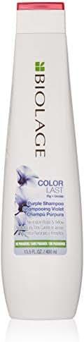 Shampoo & Conditioner: Biolage Matrix Color Last Purple