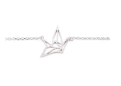 COLORFUL BLING Origami Crane Bracelet Animal Bracelet Women Girls Party Gift PLENDE