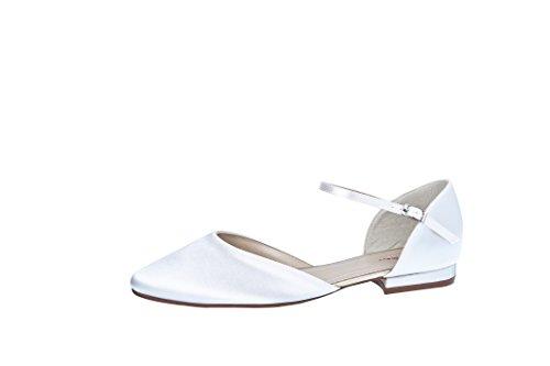 Elsa Coloured Shoes - Tira de tobillo Mujer blanco - blanco
